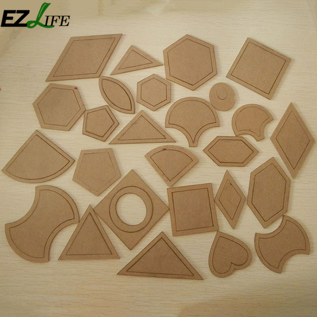 54pcs/Set Kraft Paper Sewing Patterns Template DIY Clothing Craft ...