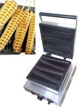 Бесплатная доставка Электрический Сосна форма палочке машина вафли Антипригарным Варочная Поверхность