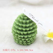 Pinecone candle mold fragrance gypsum craft 3D Tree Candle Making silicone molds
