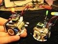 DIY мини робот DIY Комплекты andriod Bluetooth 4.0 RC комплекты для пайки электронных diy kit robot соберите комплект