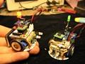 DIY mini robot DIY Kits Bluetooth andriod 4.0 RC kits de solda kit eletrônico kit diy robot montar