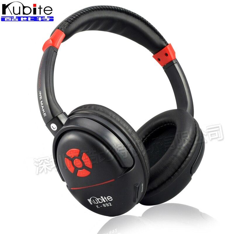 Kubite K892 3 5mm Jack Headphones Stereo Headset Portable