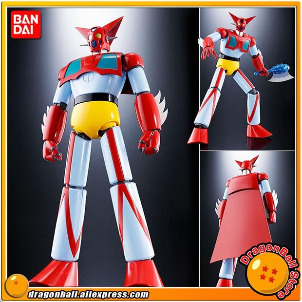 Japan Anime Getter Robo (TV Anime Ver.) Original BANDAI Tamashii Nation Soul of Chogokin GX-74 Action Figure - Getter 1 D.C.
