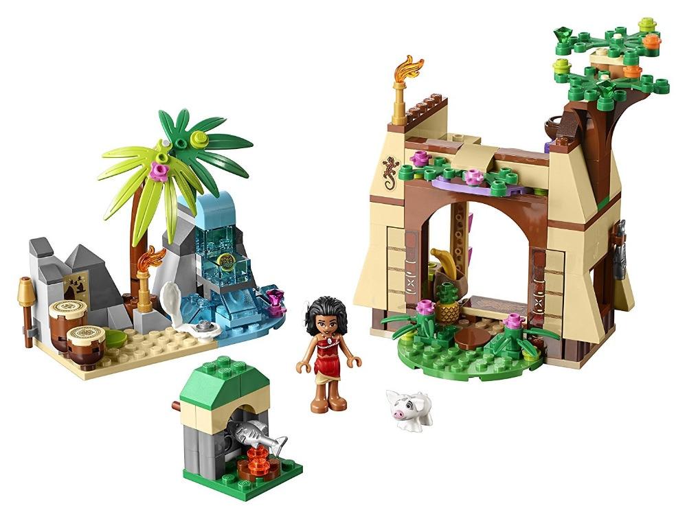 BELA Friends Moanas Island Adventure Building Blocks Classic For Girl Kids Model Toys Marvel Compatible Legoings