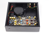 DIYERZONE Hiend MM Riaa 12AX7 Tube Phono Amp Base On Ear 834 Turntables Preamp L12 37