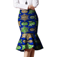 African Beautiful Fishtail Skirt Design Women African Fashion Skirts Ladies Dashiki Element Africa Clothing Tailored Custom
