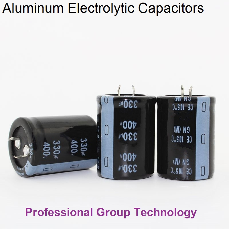1pcs H091 Good Quality 400v330uf Radial DIP Aluminum Electrolytic Capacitors 400v 330uf Tolerance 20% Size 30x40MM 20%