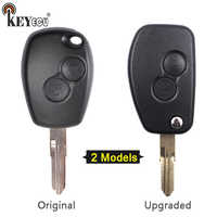 KEYECU für Renault Megane Clio modus Espace Kangoo Scenic Original/Geändert Flip Folding Remote 2 BTN Schlüssel Shell Fall fob VAC102