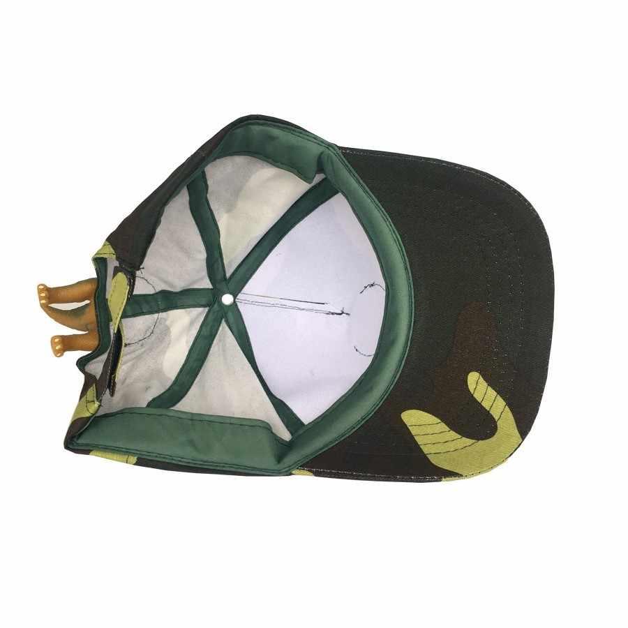 Камуфляжная бейсболка для взрослых и детей, хлопковая шапка, Модный 3D дизайн динозавра, колпак для мужчин и женщин, рождественские подарки 2019