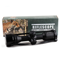 Tactical LEBO 4x32 AO Optical Sight Glass Reticle Compact Rifle Scope For Hunting Riflescope