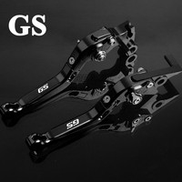 Motorbike Levers GS Motorcycle Brake Clutch Levers for BMW F650GS DAKAR F700GS F800GS ADVENTURE R1200GS ADVENTURE LC