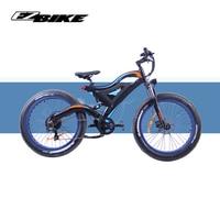 EZBIKE electric bike 1000W New Super Neve Snow bike Electric Bike Ebike 48 V electric bicycle Increase tires e bike