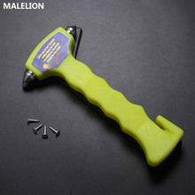 MALELION Mini Car Safety Hammer Multifunctional Emergency Rescue Escape Life High Quality Broken Window Tool