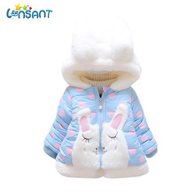 Здесь можно купить  LONSANT 2018 Baby Girl Winter Jacket Long Sleeve Hooded Coat Thick Warm Clothes Newborn Jackets For Girls Roupas Dropshipping  Children