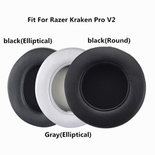 Foam Ear Pads Cushions for Razer Kraken Pro V2 Headphones With Buckle High Quality 10.29 цена и фото