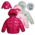 2016 bebé chaquetas de alta calidad de bebé de invierno de los bebés abrigos de invierno de algodón cabritos de la chaqueta de invierno bebé de la capa abajo y parkas