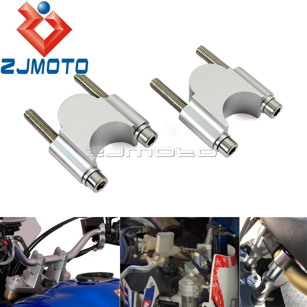 30mm Rise Tusk Handlebar Riser Kit 22mm 28mm Motorcycle 7/8