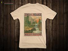 Футболка Twin Peaks TV Movie (футболки Агент Култ Кино Купер Дэвид Линч) Летняя футболка с коротким