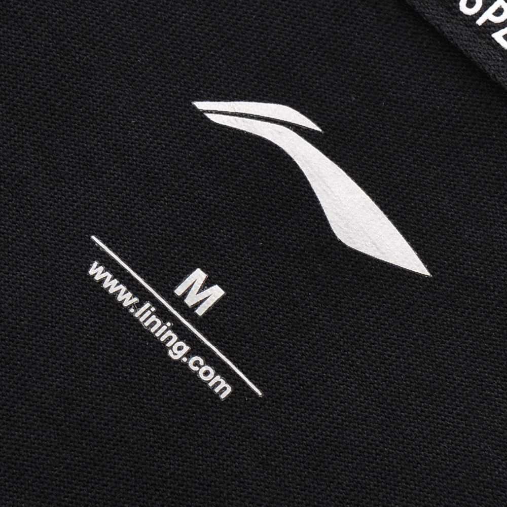(Break Code) li-Ning Vrouwen De Trend Sport T-shirt Katoen Losse Ademende Li Ning Voering Fitness Sport Tee Tops AHSN082 WTS1404