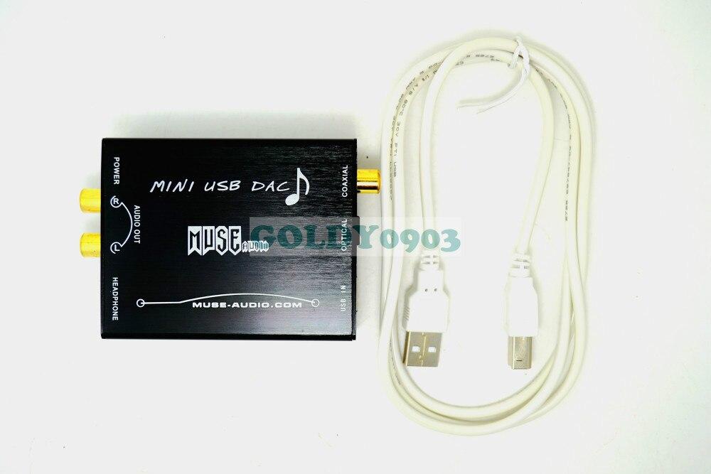 MUSE HIFI USB to S/PDIF Converter USB DAC PCM2704