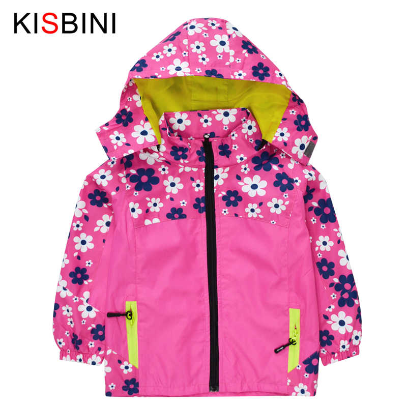 631963fa2 Detail Feedback Questions about KISBINI Jacket for Girls Floral Coat ...