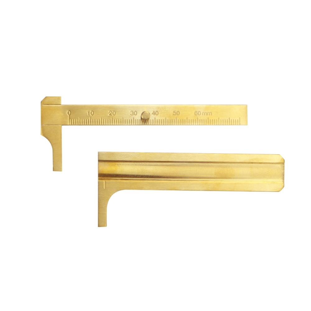 Brass Gauge Economy 80mm