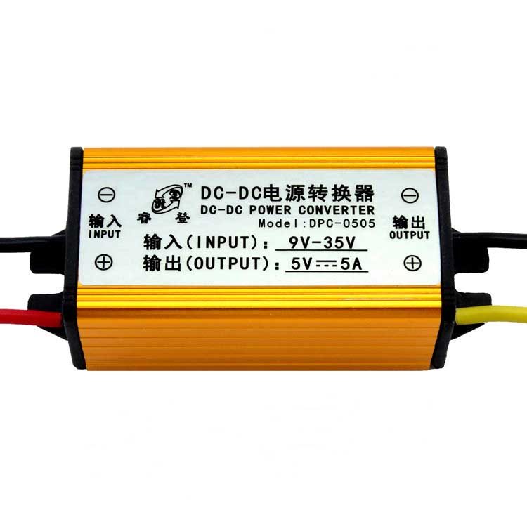 Free shipping 12V to 5V 24V to 5V 5A DC-DC Buck Converter Voltage Regulator Step Down Power Supply Module Car/Vehicle LED 150w buck power supply module dc 12v 24v to 5v 30a step down converter car adapter voltage regulator driver module waterproof