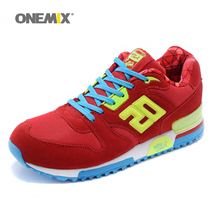 ONEMIX 2017 Factory sales suede retro slow running sport original sneakers breathable women athletic shoes drop shipping 1059