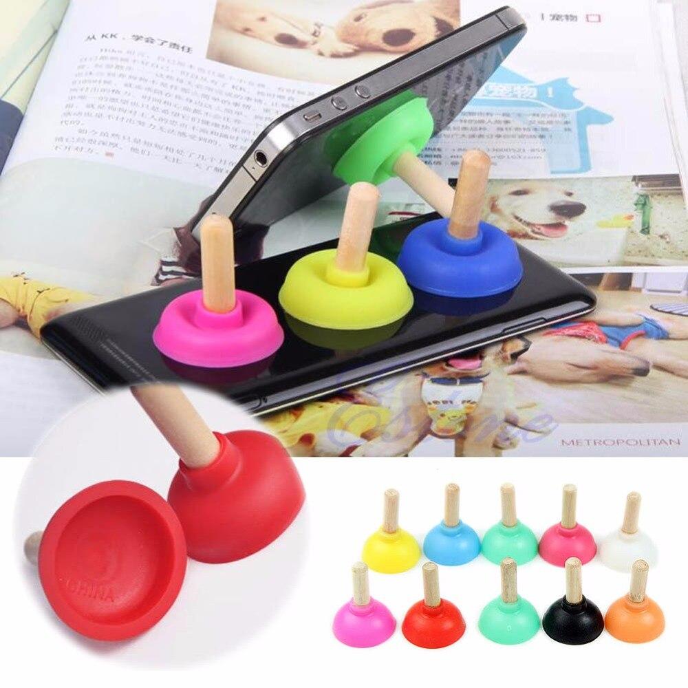 Ständer Das Beste Ootdty 1 Stück Neue Mini Plunger Halter Sucker Stand Für Handy I-telefon I Pod Psp 5 Colours-m35 Ohne RüCkgabe