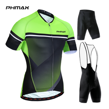 PHMAX 2019 Cycling Jersey Set MTB Bicycle Clothing Racing Mans Bike Clothes Maillot Roupa Ropa De Ciclismo Cycling Set