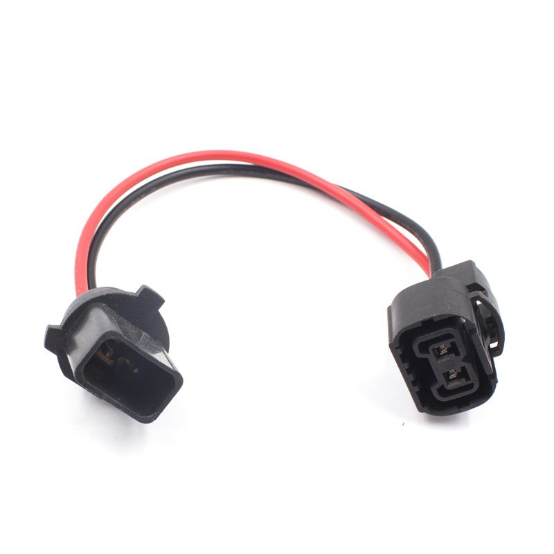 2x H11 H8 Wiring Harness female Socket Wire Connector Plug Extension Pigtai K PG