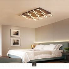 Nordic grid ceiling lamps bedroom living room villa study lighting led lamp Indoor Lighting RC Dimmable Pendant light