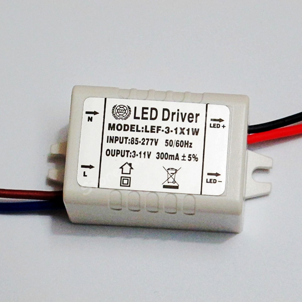 Hihg Quality Isolated 300ma 1 3x1w Led Driver 1w 2w 3w Power Supply Circuit Triac Dimmable Constant Current Buy Dc 3v 11v Ac 110v 220v 277v For Lights In Lighting Transformers From
