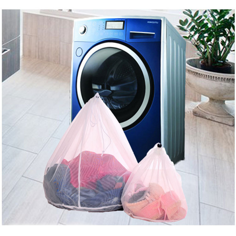 Foldable Laundry Bag Washing Machine Protection Net For Lingerie Bra Socks Underwear Clothes Wash Bag Pouch Home Basket Mesh Net