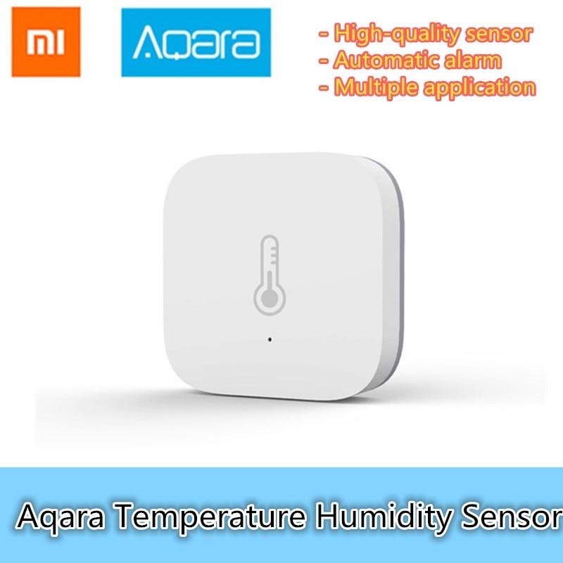 D'origine Xiaomi AQara Intelligent Température Humidité Capteur ZigBee Wifi Sans Fil Travail Avec xiaomi smart home mijia Mi maison App