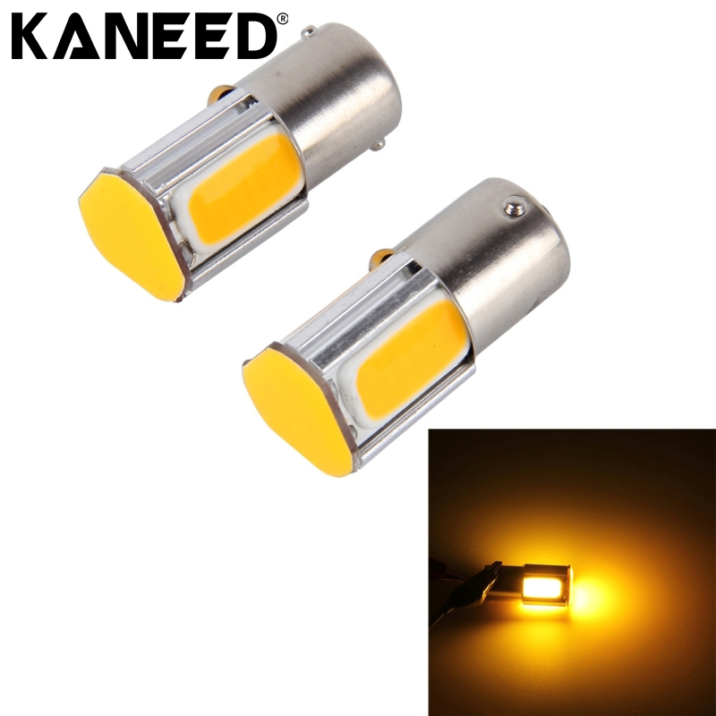 LED Turn Light 1156 5W 4 COB LEDs Cars Turn Lights LED Bulb For Camper  Trailer