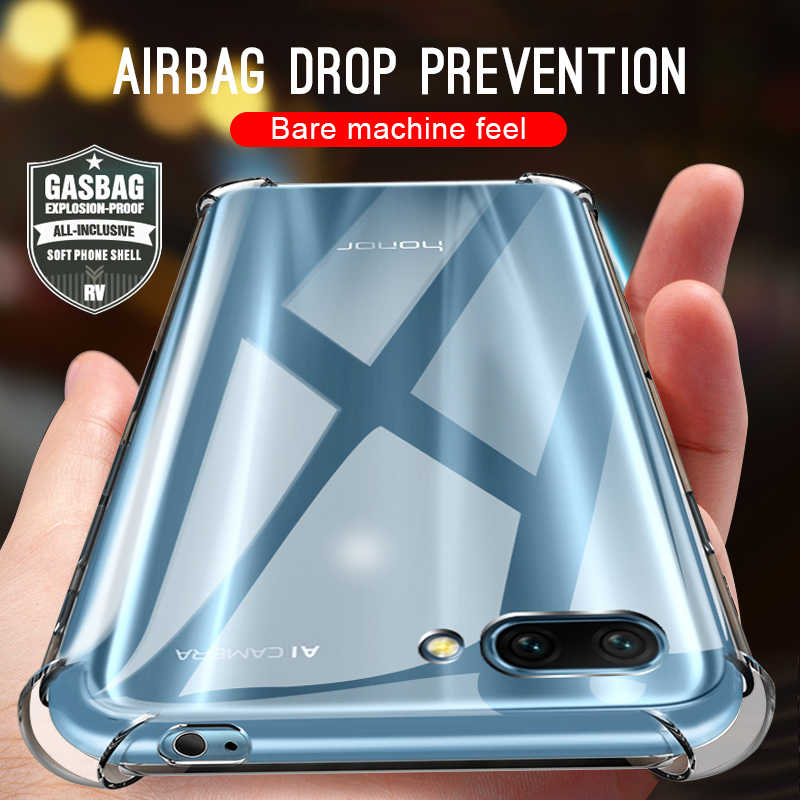 Shockproof Airbag Cases For Huawei P20 Mate 10 20 Lite Nova 3 3i 4 Case For Honor 8X Max 10 9 Lite 6C Pro Play Soft Clear Cover