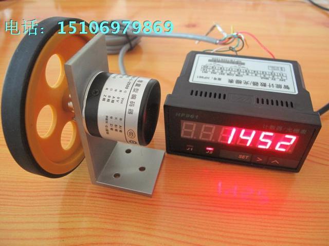 Plus en min counter meter counter meter apparaat met encoder meter wiel