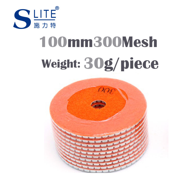Slite Water Mill 80 100mm Marble Polishing Pad Stone Polishing Block New Film Diamond Soft Grinding Sheet Lapping Machine in Grinding Wheels from Tools