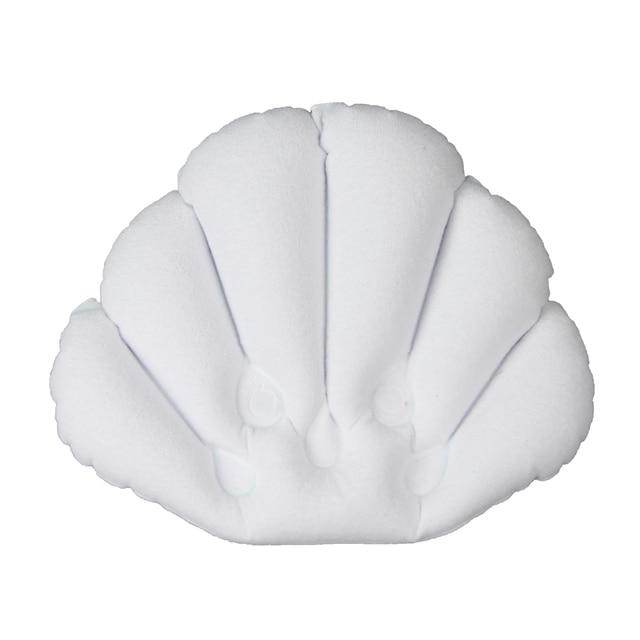 Buy One White Bathroom Supplies Bathtub Pillow Bath Pillow Bathtub Headrest Suction Cup Waterproof Bath Pillow From Reliable Bathtub