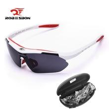 ROBESBON Cycling Eyewear Sunglasses Bike Outdoor Sports glasses TR90 Goggles Windproof Eyewear Bicycle Sun glasses UV400