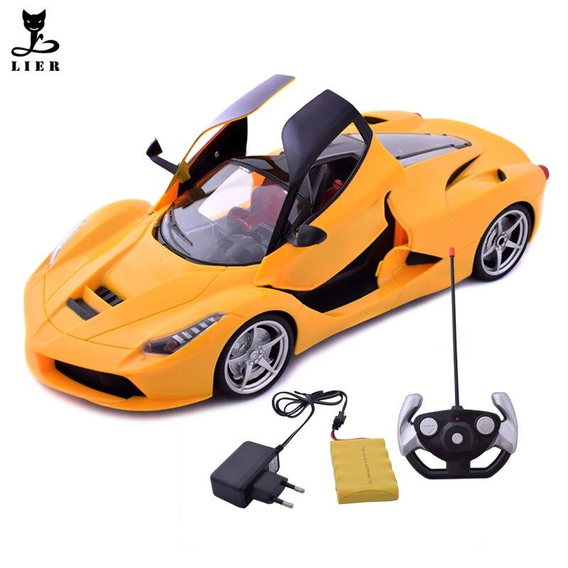 New Charging RC Car Can Open Door Remote Rontrol Car For Children Boys RC Electric Drift Car carrinho de controle remoto DB014