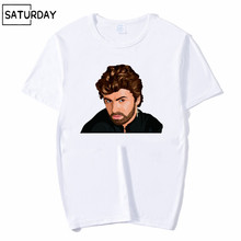 Men and Women Hipster George Michael Choose Life Design Funny T Shirt,Unisex Comfortable Breathable T-Shirt Mens Streewear