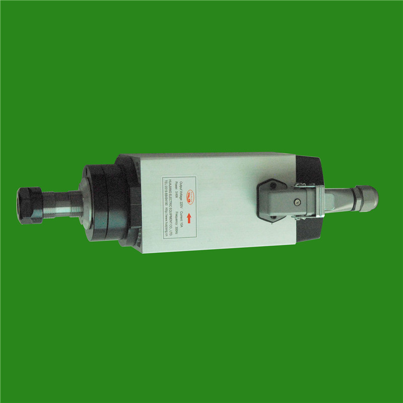 4HP 3KW 18000RPM ER20 Square Woodworking AC Spindle motor 4 bearings 89*98 220VAC 10A 300HZ air cooling CNC Router