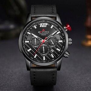 Image 5 - Men Watch Top Brand Luxury ARMIFORCE Mens Leather Sports Watches Quartz Mens Wristwatch Chronograph Clock Relogio Masculino