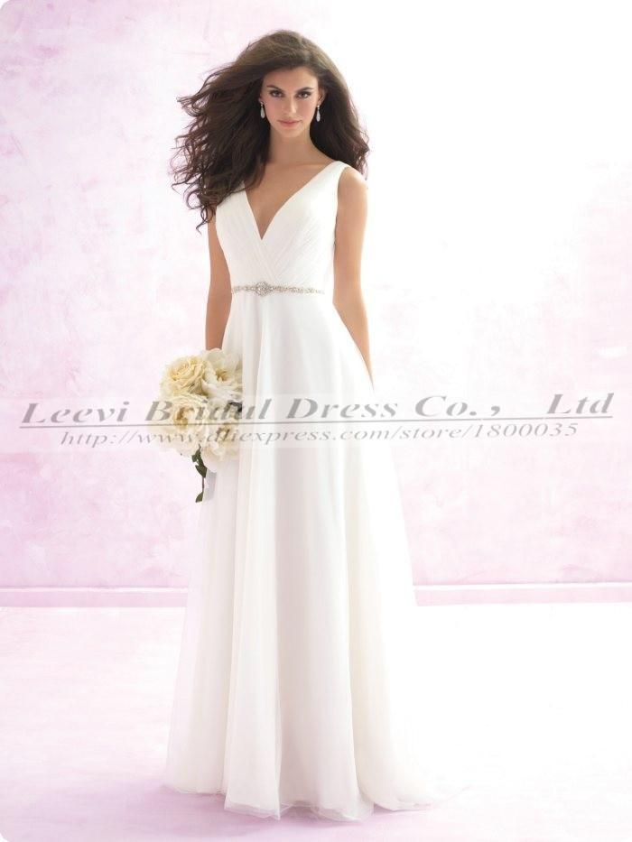 vestidos para bodas playa de la gasa vestidos baratos de la boda