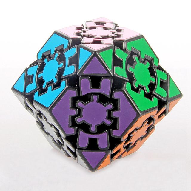 Lanlan 42mm 3x3x3 Velocidad Gear Megaminx Cubo Mágico Juego de Puzzle Cubos Juguetes Educativos Para Niños Regalo de Cumpleaños de los niños