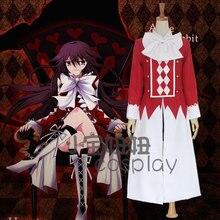 Cosplay Pandora Hearts Alice disfraces Anime Full fijaron ( capa + camiseta + falda negro + corbata )