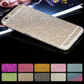 "Coque For iPhone 4 4s 5 5s SE 5C 6 6Plus 6s 6s Plus Glitter Sticker Front Back Cover Cases for iPhone 7 7Plus 5.5"" Para fundas"