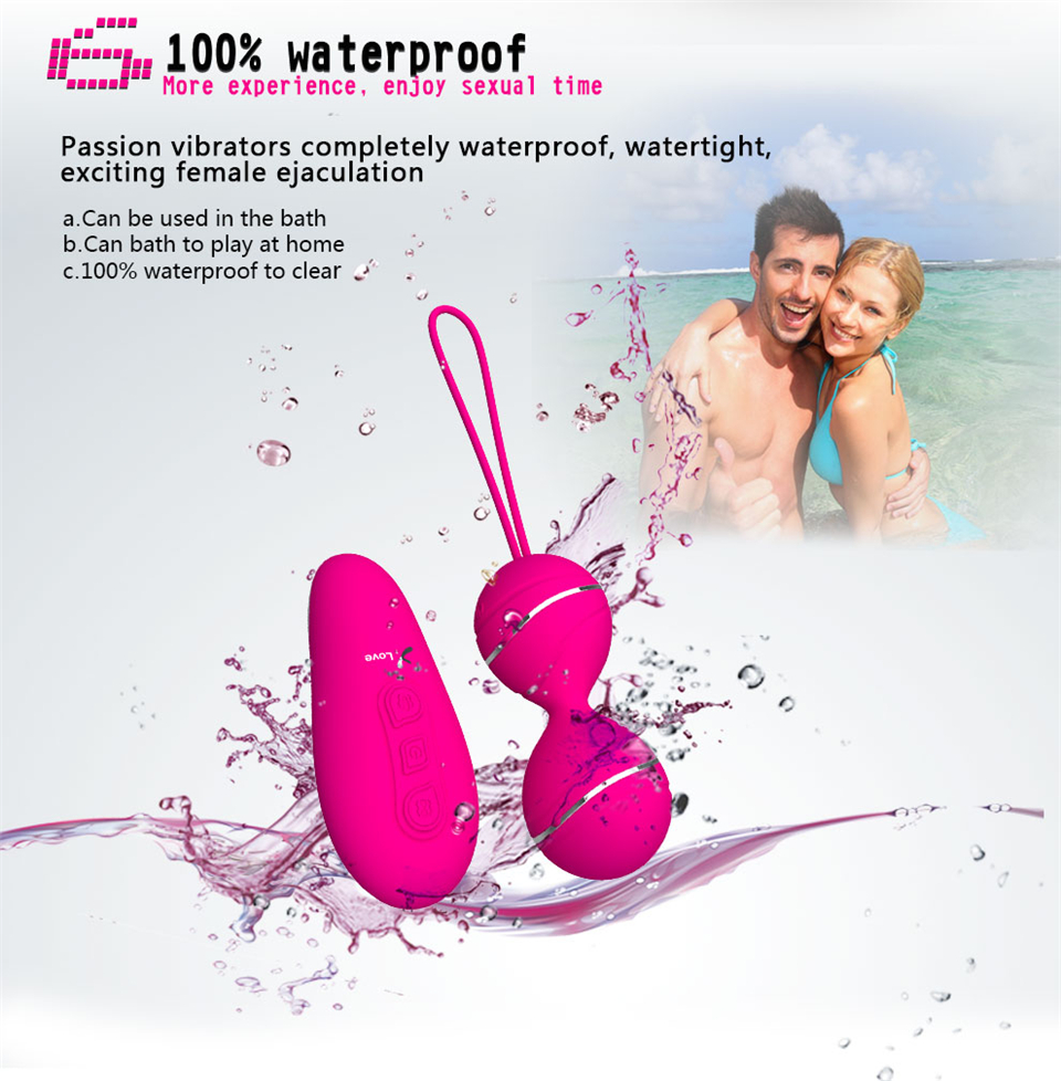 Seven Speed Remote Control Kegel Ball for Vaginal Tight Exercise Sex Toy for Women 16
